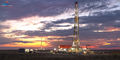 Andrews Texas, Permian Basin, drilling rig, sunset, fine art oil & gas photography