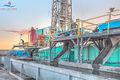 drilling rig, New Mexico, Delaware Basin, solids control, Eddy County New Mexico, sunrise, Frontier Drilling, Frontier Drilling Rig 17