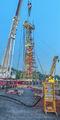 worlds largest snubbing job, snubbing job, Louisiana, Patterson Services, BOP, blowout preventer, natural gas, natural gas storage, vertical panorama, midstream oil & gas. midstream oilfield