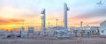 midstream, stabilizer, sunrise Sunray Texas, refinery, large format fine art prints, mural, fine art mural, midstream oil & gas