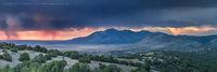 Carrizo Valley Monsoon (2018) 3:1 Panorama