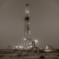 Drilling Rig, moon, full Moon, Midland, Texas, Night, Darkness,Oil and Gas photography, oilfield pictures