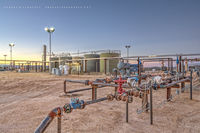 midstream, oil & gas photography, Culberson County Texas, Permian Basin, Gas, Gas assets, gas gathering, horizontal, West Texas, Texas, Delaware Basin, high resolution, perspective control lens