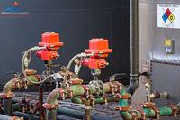 produced water, oilfield water, valves, slam valves, oilfield art, Oklahoma, high resolution