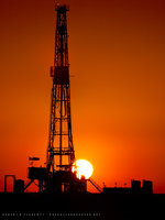 drilling rig, Buckeye New Mexico, summer, Oil and Gas Photography,  Fine Art, Robert D. Flaherty