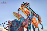 New Mexico, High Plains of Eastern New Mexico, pumpjack, pumpjack art, pump jack, Oil and Gas Photography, Fine Art,  pumping unit, oilfield art