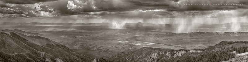 Topside Gallery, Three Rivers, Sierra Blanca, Central Mountains, New Mexico, Ruidoso New Mexico, Monsoon, high resolution, composite panorama, medium format, Summer, June, Tularosa Basin, fine art, fi