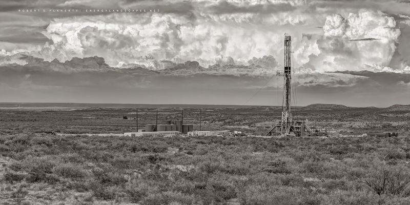 Delaware Basin, Permian Basin, West Texas, Mountain, drilling rig, Cimarex, Chevron, Monsoon, Cactus Drilling, Cactus Rocket rig 148,  Cactus rig 148, Middle Ground, mountains, drilling rig, lateral g