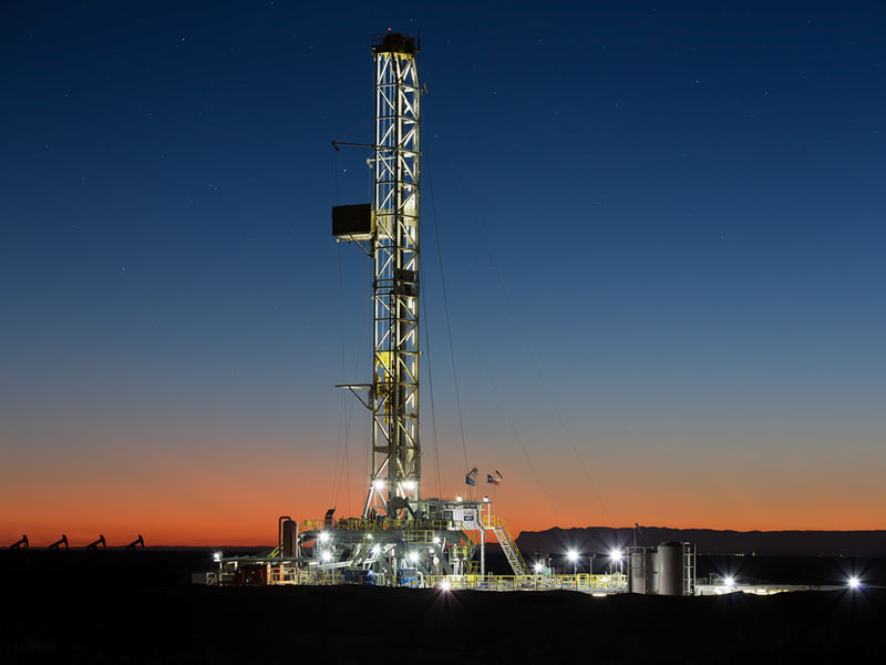 H&P Drilling, Texas, Guadalupe Pass, Oil & Gas Photography, drilling rig, Fine Art Oil & Gas Photography, Oilfield photo