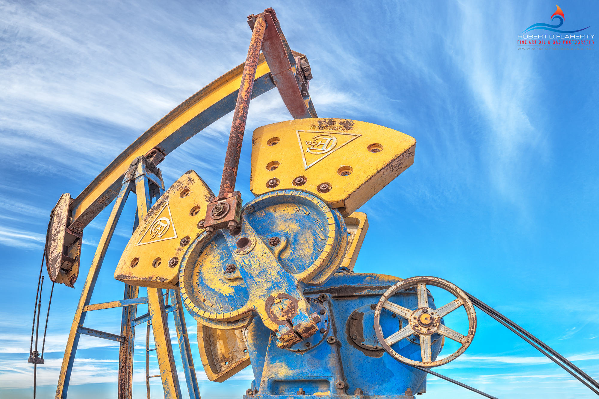 pumpjack, pump jack, lea County New Mexico, Square Lake, stripper well ,fine art photography of oilfield production assets