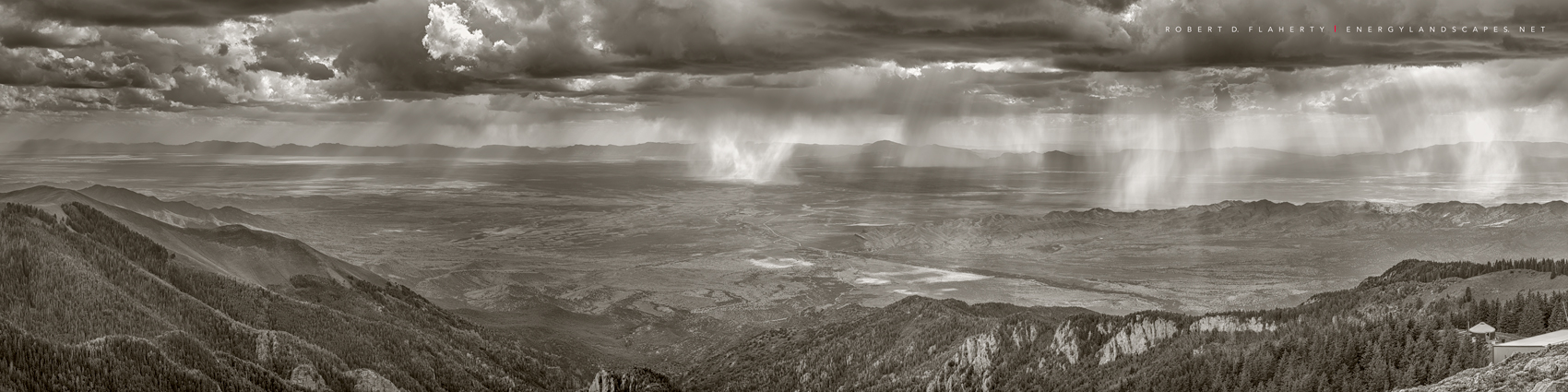 Topside Gallery, Three Rivers, Sierra Blanca, Central Mountains, New Mexico, Ruidoso New Mexico, Monsoon, high resolution, composite panorama, medium format, Summer, June, Tularosa Basin, fine art, fi, photo