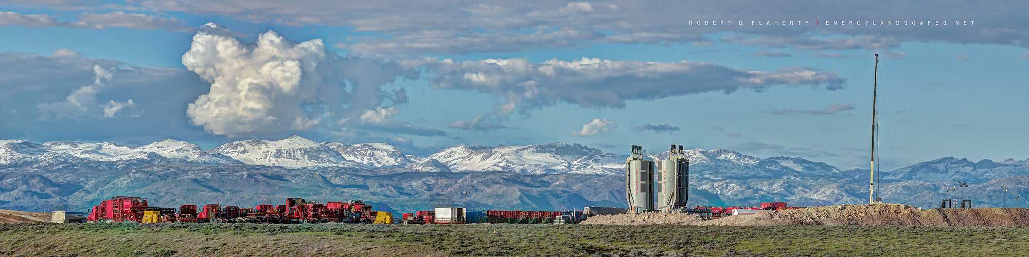 Frac, Boulder Wyoming, mountains, mural, panorama, high resolution, photo