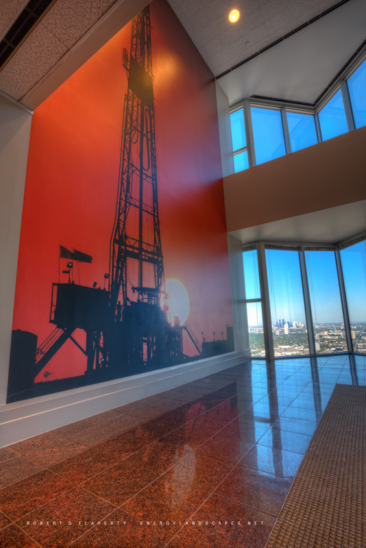 Rockwater Energy, Houston, Texas, Patriot Drilling, Midland, Texas, Williams Tower, Photography Installations, Oil & Gas Photography, photo