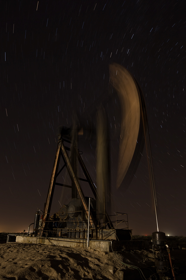 New Mexico, PumpJack, Pump jack, old, night,long exposure,polaris, H&P Drilling, oil and gas photography, Cimarex, photo