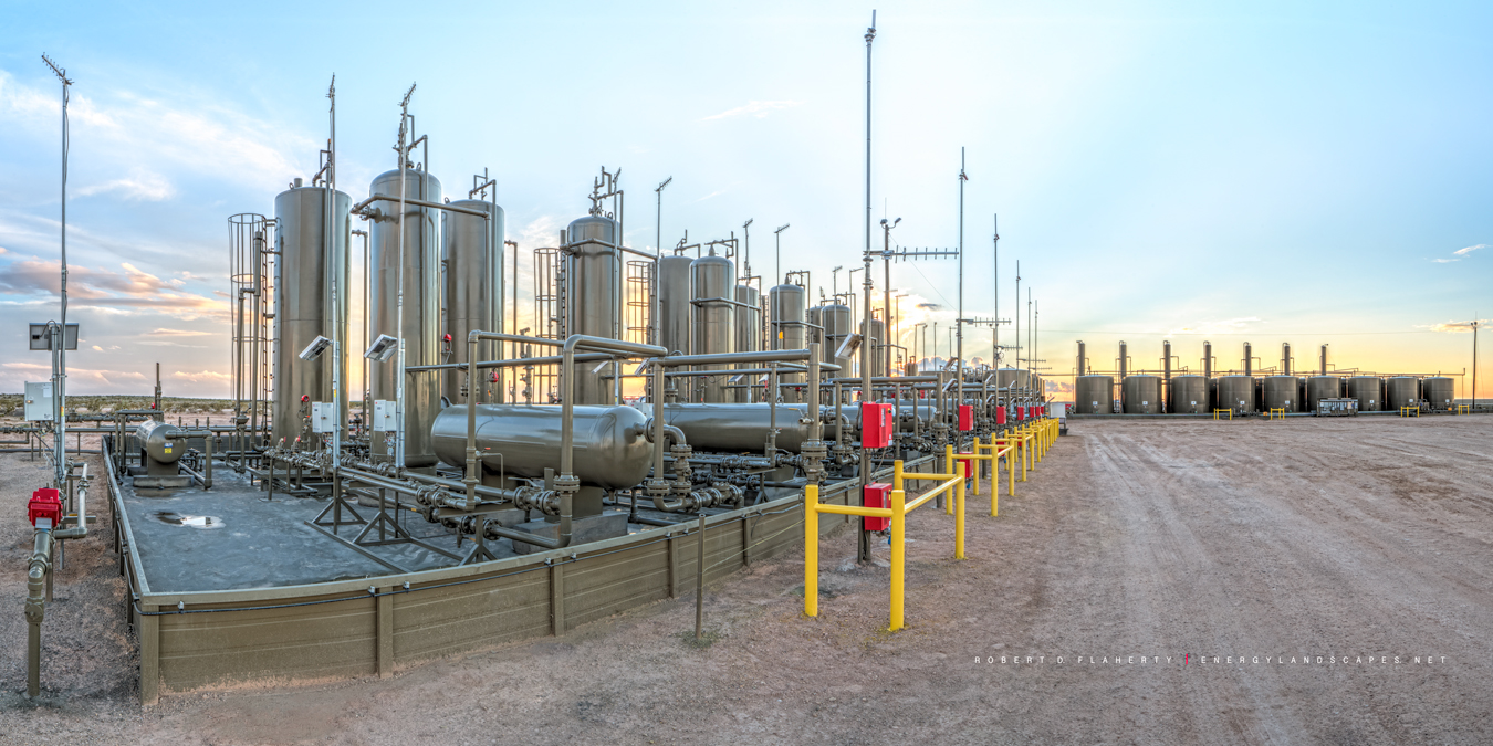 gas production, Cimarex Energy, Delaware Basin, Texas, Culberson County Texas, Permian Basin, photo