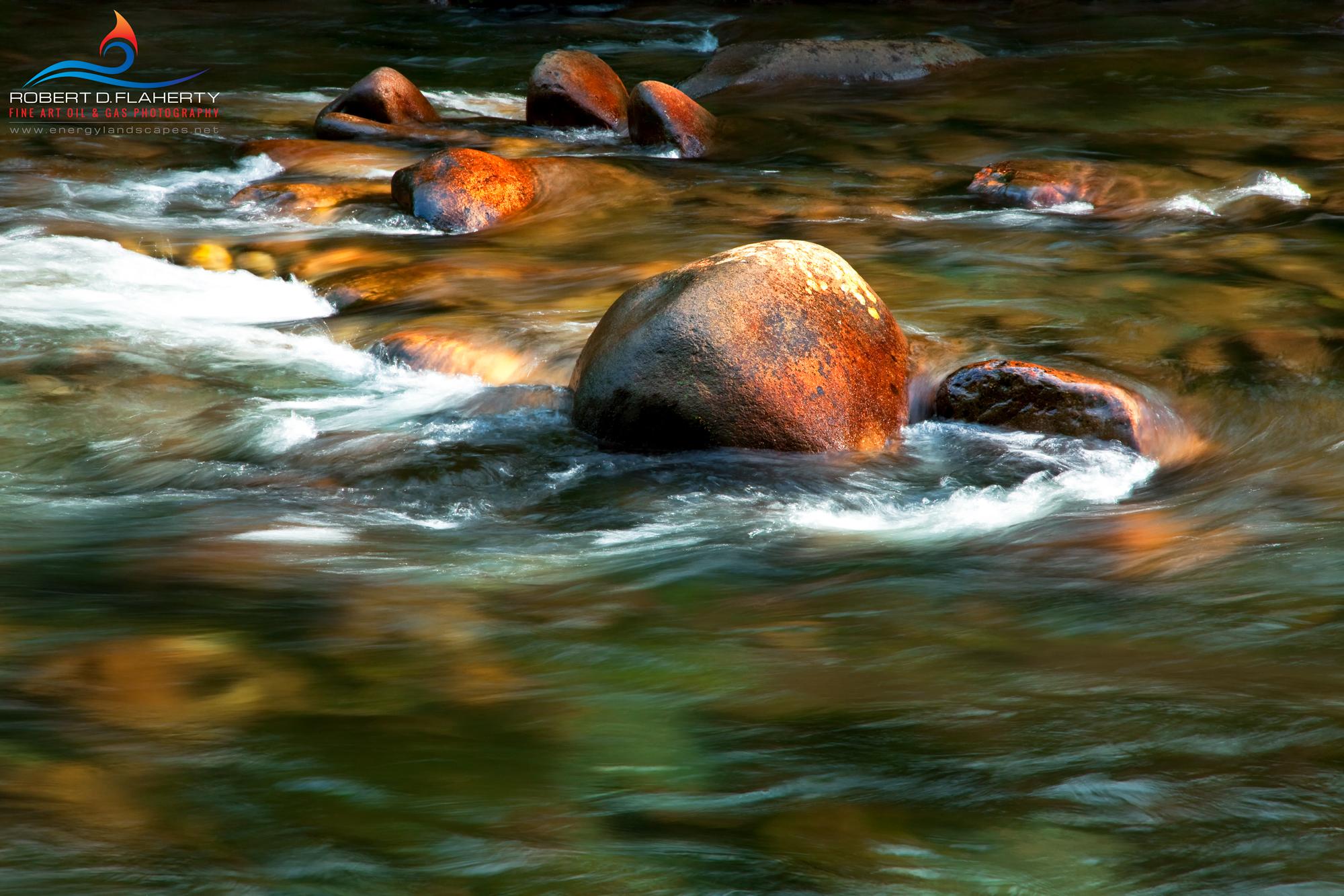 Bonito River, Ruidoso New Mexico, New Mexico, fine art, fine art landscape photography, abstract, sunrise, river, Spring, April, photo