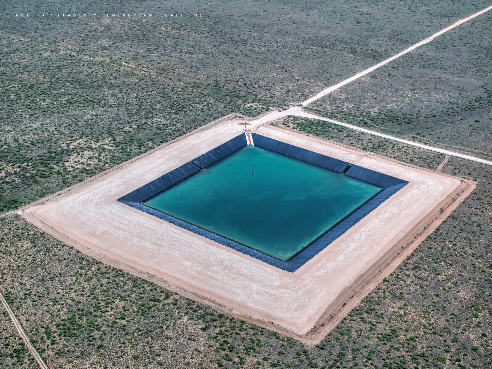 frac, frac impoundment, frac water, oil & water logistics, frac pond, Delaware Basin, Texas, Permian Basin, oil completion, oilfield water, oilfield water recycling, fine art, photo