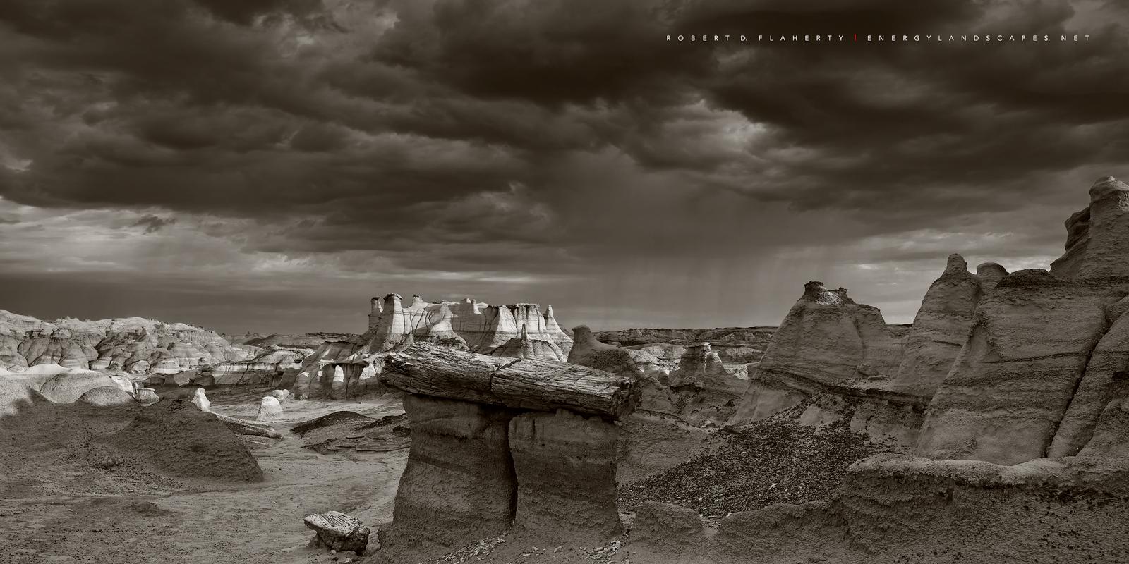 New Mexico, New Mexico fine art landscape photography, Bisti Wilderness, Navajo, desolation, monsoon, rain, Ship Rock, Northwestern New Mexico, Ruidoso, photo