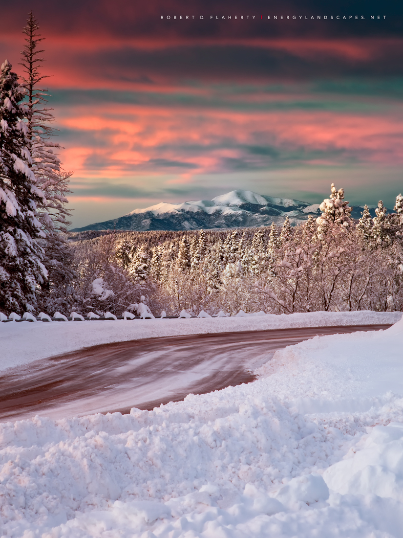 Sierra Blanca, fine art, fine art landscape photograpy, Ruidoso New Mexico, snow, Winter, art gallery, studio gallery, Topside Gallery, photo