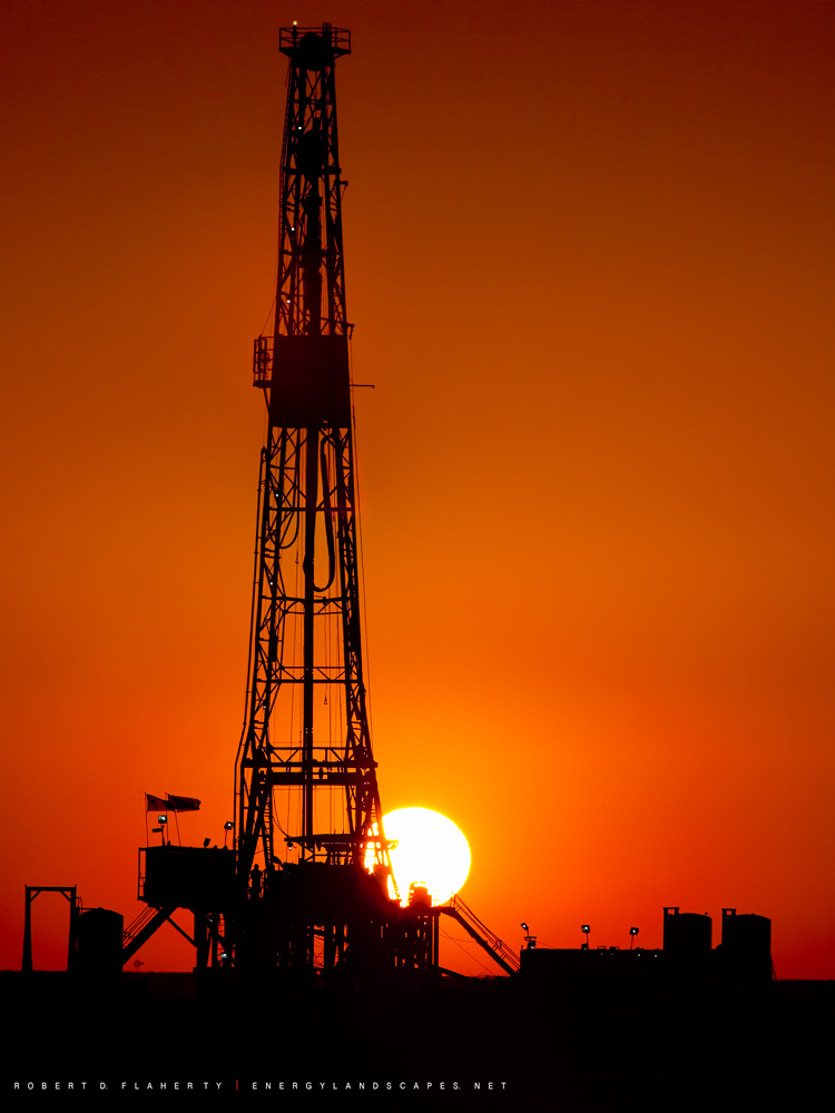 drilling rig, Buckeye New Mexico, summer, Oil and Gas Photography,  Fine Art, Robert D. Flaherty, photo