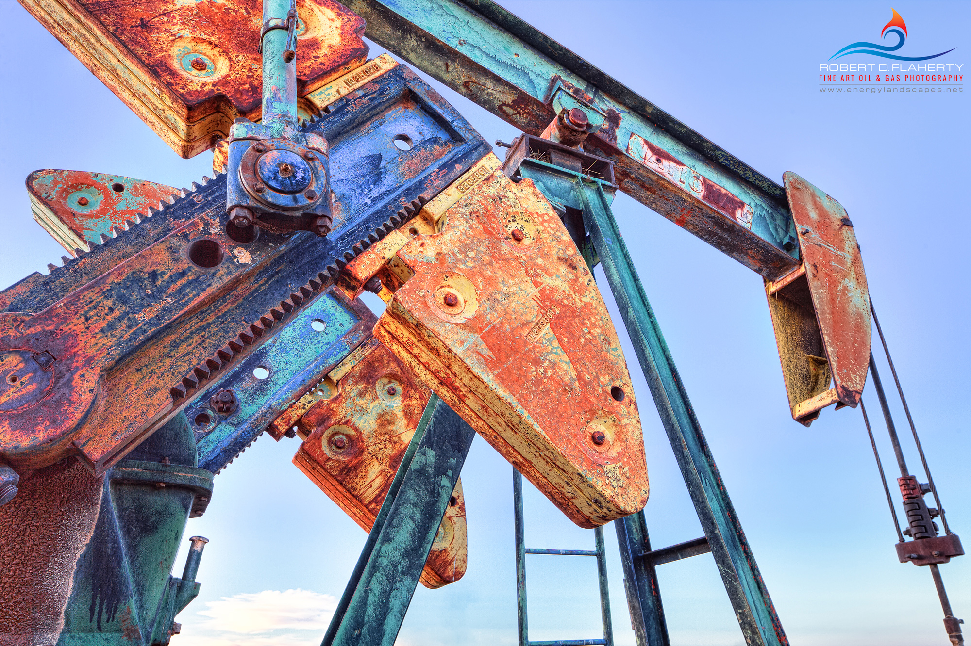 Lea County New Mexico, Pumpjack, abandoned