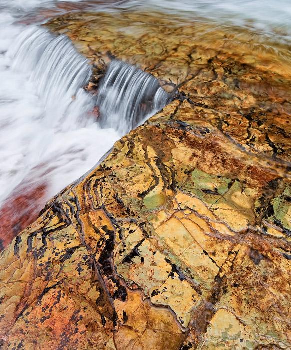 Virginia Falls, Glacier National Park Montana, Northwest, , photo